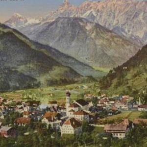 Schruns - (Montafon) 686 m / Aufnahme von F. Moosbrugger von Moosbrugger, F.