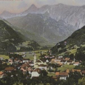 Schruns (Montafon) 686 m / Aufnahme von F. Moosbrugger von Moosbrugger, F.