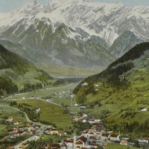 Schruns (Montafon) 686 m. / Aufnahme von F. Moosbrugger von Moosbrugger, F.