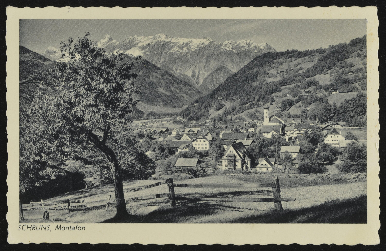 Schruns, Montafon / Aufnahme von Risch-Lau von Risch-Lau, ...