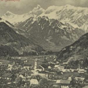 Schruns, 686 m (Montafon) / Aufnahme von F. Moosbrugger von Moosbrugger, F.