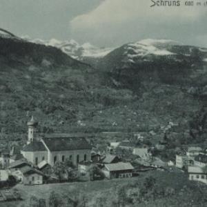 Schruns 686 m (Montafon) / Aufnahme von F. Moosbrugger von Moosbrugger, F.
