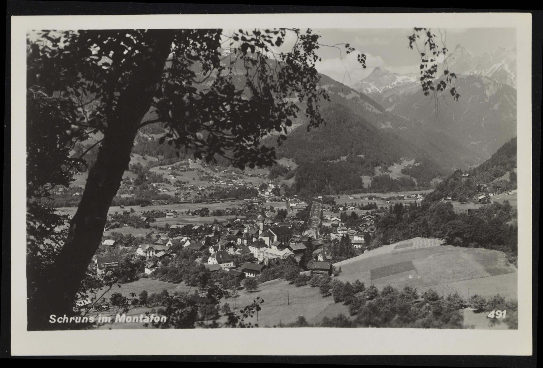 Schruns im Montafon / Aufnahme von Risch-Lau von Risch-Lau, ...