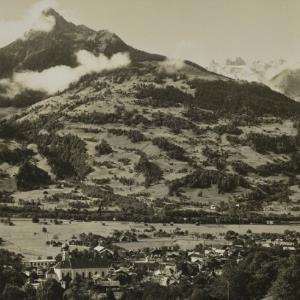 Schruns i. Montafon / Aufnahme von Theo Wolf von Wolf, Theo