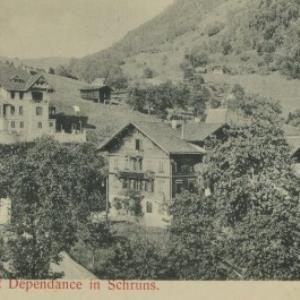 Hotel Stern mit Dependance in Schruns von Mangeng, S.