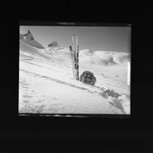 Skigebiet bei Warth mit Kleinhorn und Auenfelderhorn von Risch-Lau