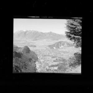 Götzis gegen Alpsteingruppe von Risch-Lau
