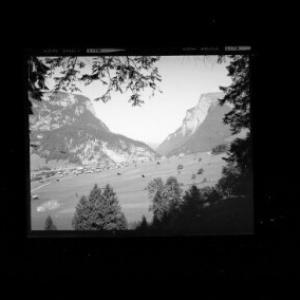 Au im Bregenzerwald mit Kanisfluh und Mittagsfluh von Risch-Lau