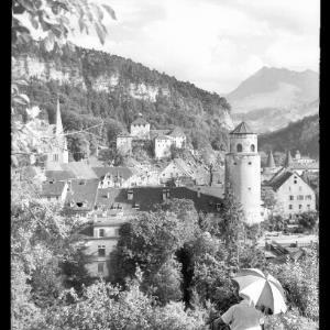 Feldkirch gegen Gurtisspitze von Risch-Lau