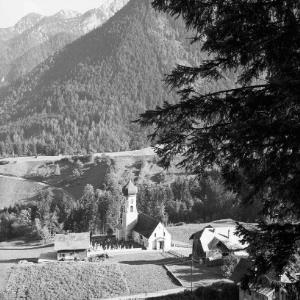 Bürserberg, Kirche gegen Rhätikon von Risch-Lau