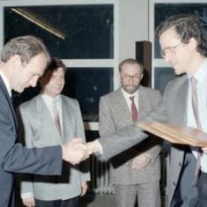 Durig-Böhlerpreis 1987 / Helmut Klapper von Klapper, Helmut