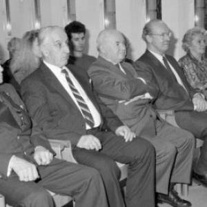 Verleihung von Befreiungsehrenzeichen / Helmut Klapper von Klapper, Helmut