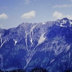 Dalaas, Lechquellengebirge von Thüringer Alpe aus / Helmut Tiefenthaler von Tiefenthaler, Helmut