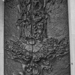 Alberschwende, Kirche St. Martin, Kirchentüren / Rudolf Zündel von Zündel, Rudolf