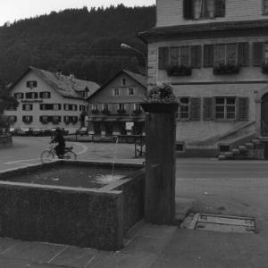 Bezau, Dorfbrunnen / Rudolf Zündel von Zündel, Rudolf