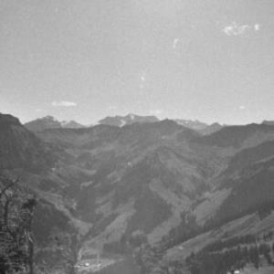 Berglandschaft / Rudolf Zündel von Zündel, Rudolf