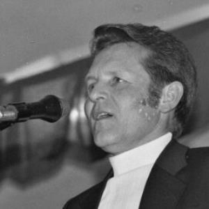 Schwarzach, Verabschiedung von Bürgermeister Josef Vonach / Rudolf Zündel von Zündel, Rudolf
