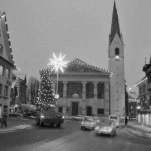 Dornbirn Weihnachtsbeleuchtung / Rudolf Zündel von Zündel, Rudolf