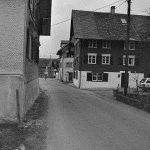 Dornbirn, Häuser, Brunnen und Wegkreuze / Rudolf Zündel von Zündel, Rudolf
