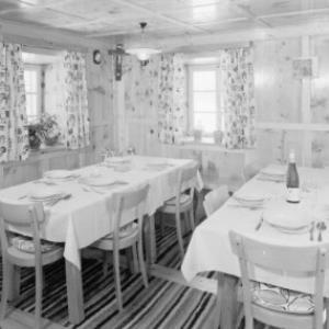 Speisezimmer der Pension Neururer in Köfels im Pitztal von Risch-Lau