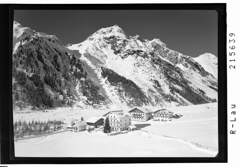 Mandarfen 1700 m gegen Brandkogel 2676 m, Pitztal / Tirol von Risch-Lau