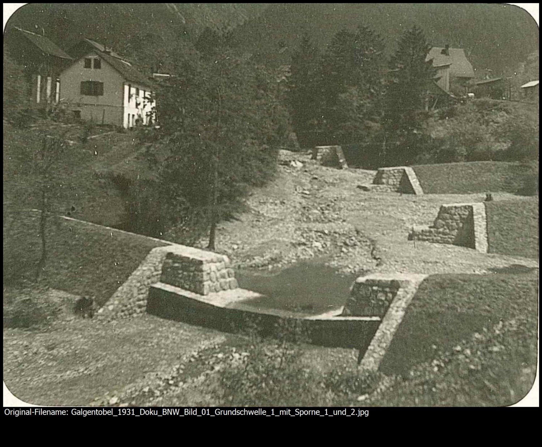 Galgentobel Bludenz / Wildbach- und Lawinenverbauung, Sektion Bludenz von Wildbach- und Lawinenverbauung