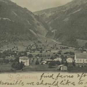 St. Gallenkirch / F. Moosbrugger von Moosbrugger, F.