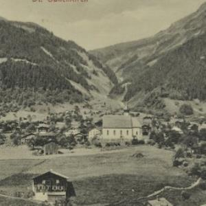 St. Gallenkirch / Aufnahme von Fr. Moosbrugger von Moosbrugger, F.