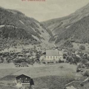 St. Gallenkirch / Aufnahme von F. Moosbrugger von Moosbrugger, F.