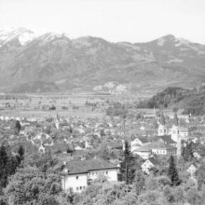 Götzis / Vorarlberg gegen Hohen Kasten von Risch-Lau