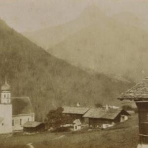 St. Gallenkirch im Montavonthal / Aufnahme von Würthle ; Spinnhirn von Würthle, ...