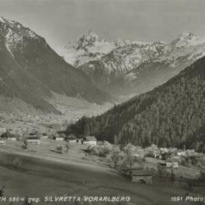 St. Gallenkirch 886 m geg. Silvretta Vorarlberg / Wolf von Wolf, ...