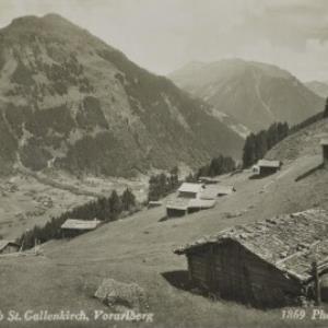 Alpe Grandau ob St. Gallenkirch, Vorarlberg / Wolf von Wolf, ...