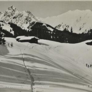 St. Gallenkirch Skigebiet Garfreschen 1500 m, Montafon / Risch-Lau von Risch-Lau, ...