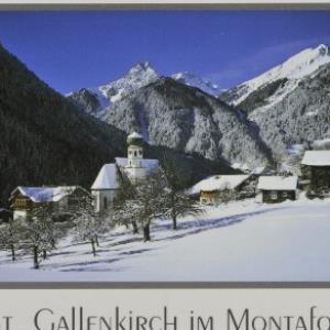 St. Gallenkirch im Montafon von