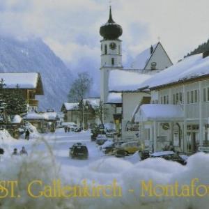 St. Gallenkirch - Montafon von Häusle, H.