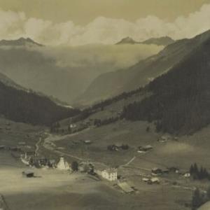 St. Gallenkirch Gargellen 1447 m von Silvrettaverlag, Steiner O.