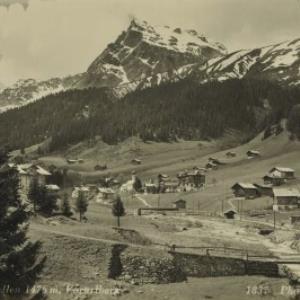 St. Gallenkirch Luftkurort Gargellen 1476 m, Vorarlberg / Wolf von Wolf, ...