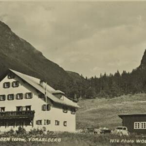 St. Gallenkirch Gargellen Hotel Vergalden 1600 m, Vorarlberg / Wolf von Wolf, ...