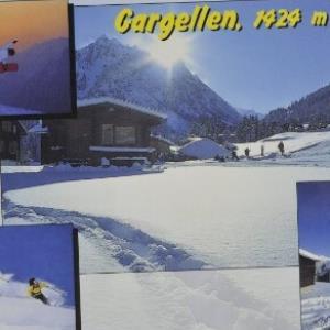 St. Gallenkirch Gargellen, 1424 m von