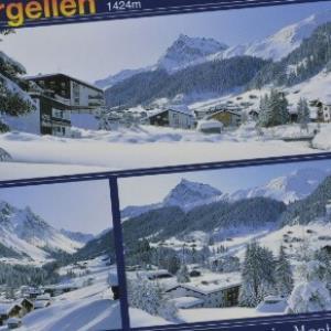St. Gallenkirch Gargellen 1424 m von Häusle, H.