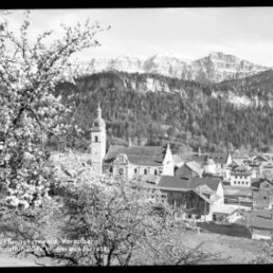 Bezau im Bregenzerwald / Vorarlberg / mit Kanisfluh von Risch-Lau