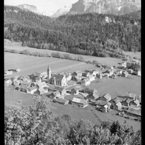 Bezau, Bregenzerwald, Vorarlberg mit Kanisfluh von Risch-Lau