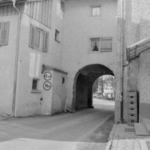 Hohenems, Schlossplatz, Torbogen / Rudolf Zündel von Zündel, Rudolf