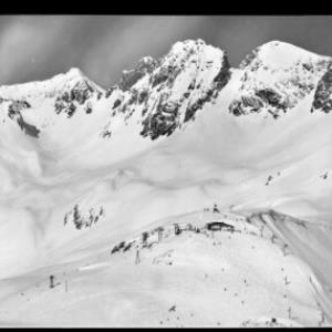 Bergstation Kapall 2320 m, Schöngrabenlift, St.Anton am Arlberg, Austria von Risch-Lau