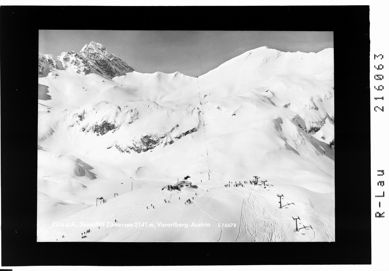 Zürs am Arlberg, Sessellift Zürsersee 2141 m, Vorarlberg - Austria von Risch-Lau