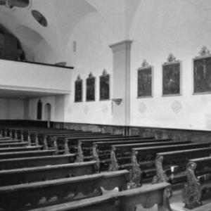 Sonntag, Kirche St. Oswald und St. Dominikus / Rudolf Zündel von Zündel, Rudolf