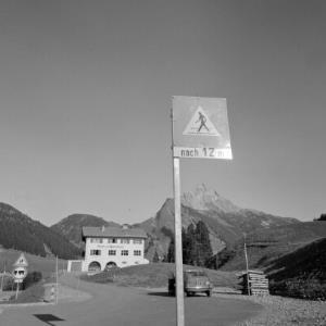 Lech, Schule und Gemeindeamt / Rudolf Zündel von Zündel, Rudolf