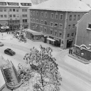 Winter in Bregenz, Leutbühel / Rudolf Zündel von Zündel, Rudolf