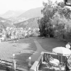 Blick vom Hotel Stadtberg am Ardetzenberg auf Feldkirch und in den Walgau von Risch-Lau
